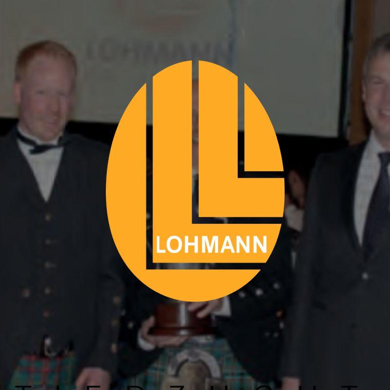 Howie Surgener Cup presented to Mr. David Scott, Lohmann G B