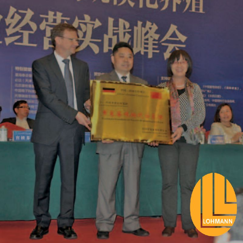 Technical support from Lohmann to SDF (China)
