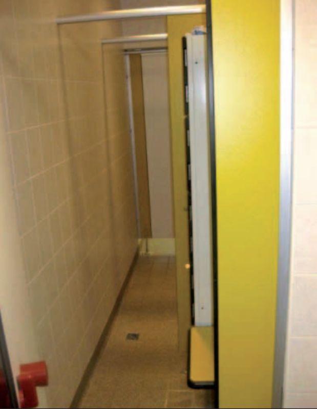 Abbildung 4: Beispiel für eine farmeigene Duschvorrichtung