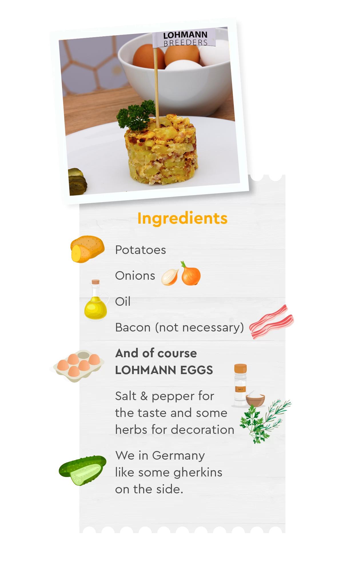 Recipe Bauernfrühstück Lohmann
